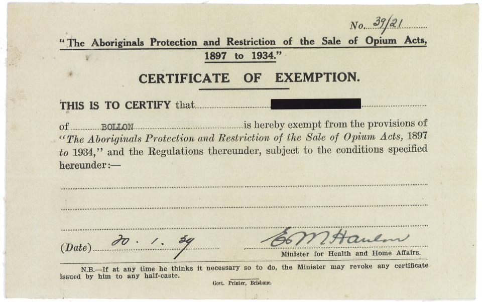 What is Certificate of Exemption