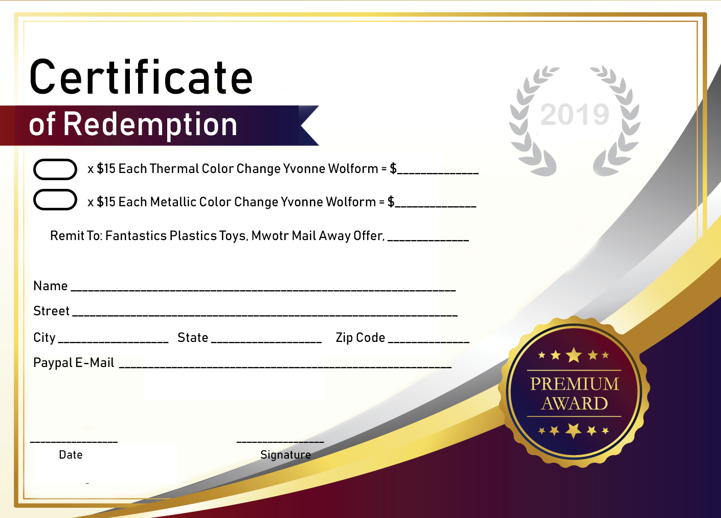 What is a Certificate of Redemption